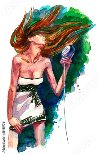 rock woman singer