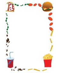 Vertical Fast Food Frame