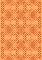 Cross pattern.