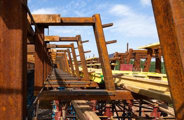 Rusty girders