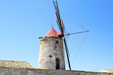 Old mill for the collection of salt - Nubia, Trapani