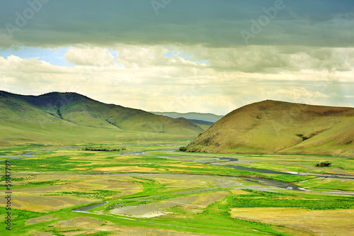 View of Orkhon Valley