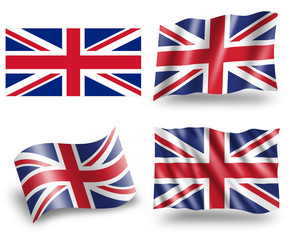UK -  Flag of the United Kingdom of Great Britain and N. Ireland