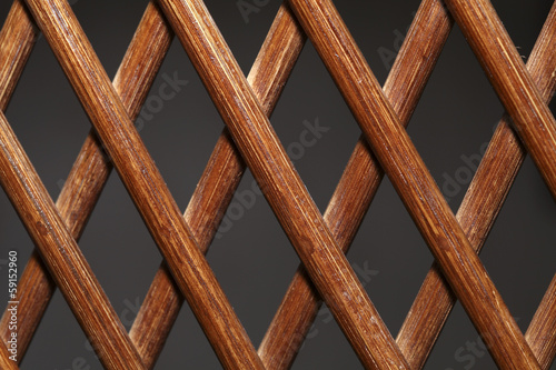 Wood fence weave use as background