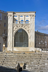Lecce, il Palazzo del Sedile