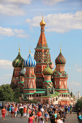 Saint Basils Cathedral, Moscow, Russia
