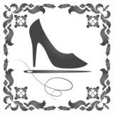 design for repair of women's shoes