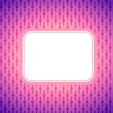 Square artistic banner on colorful lighting background