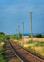 Stillgelegte Bahntrasse im Hunsrück Hunsrückbahn