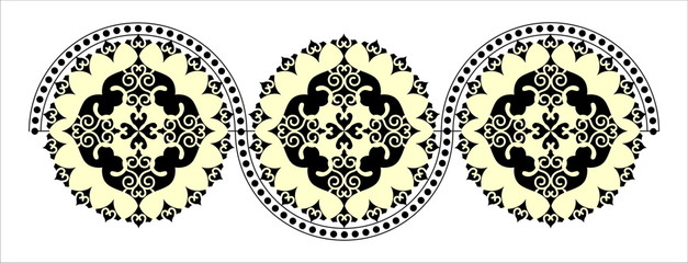 decorative round pattern