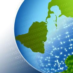 Unternehmen der Zukunft weltweit vernetzt