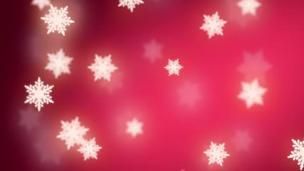 falling snowflakes background, seamless loop
