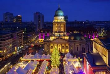 Berlin Weihnachtsmarkt Gendarmenmarkt 20