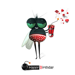 Happy birthday fly gifts