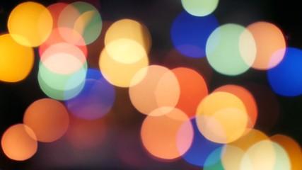 Christmas lighting glow, bokeh No.01