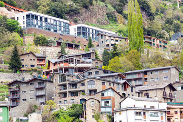 Residence district at Pyrenees