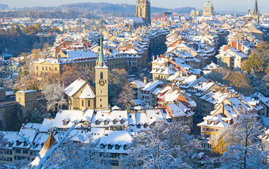 Bern in winter