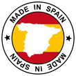 "Stempel "" Made in Spain """