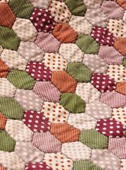 cloth texture, Handmade, quilt