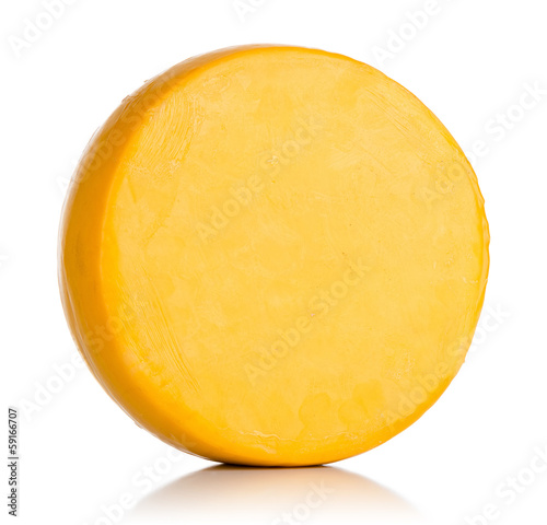 Cheese on white. File contains a path to isolation. - 59166707
