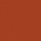 Lego block. Seamless vector illustration in red color poster