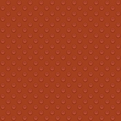 Lego block. Seamless vector illustration in red color