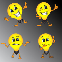 Smart Lamp Smile Facies