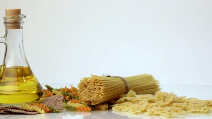 Italian spaghetti, Italian pasta ingredients