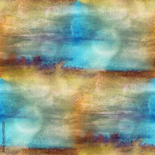 texture watercolor brown, blue seamless