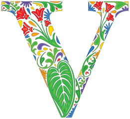 Floral V