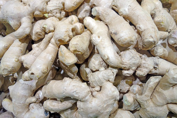 Background of Ginger root