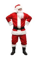 Happy traditional Santa Claus. Christmas.