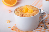 Rice pudding with candied and orange