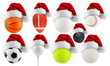 Santa hat sport collection