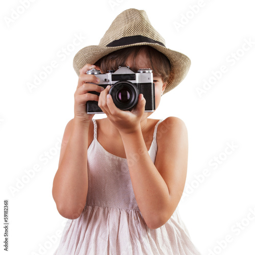 Little girl photographs