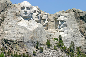 Mount Rushmore National Memorial Sculpture