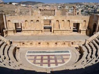 Jordan - Jerash - Roman theatre