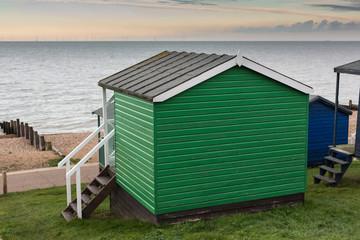 Beach Hut at Dusk