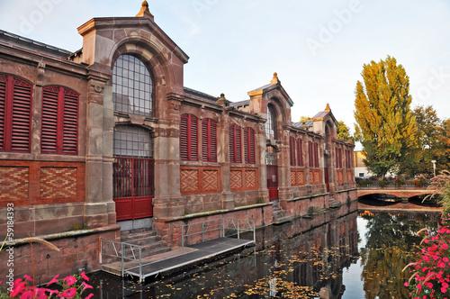 Papiers peints Venice Colmar, Alsazia - il vecchio mercato