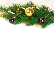 Festive Christmas card