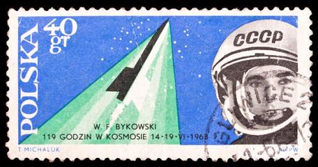 Poland stamp, Bykovsky