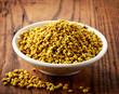 bowl of bee pollen