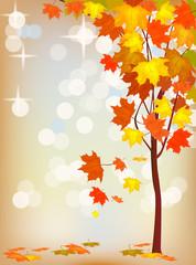 Autumn  holiday postcard