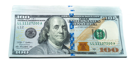New 100 Dollar Bills