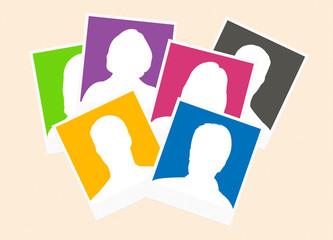 candidats - photos d'identités