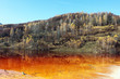 minery polluted lake in autumn - 59191543