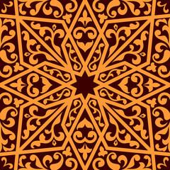 Islamic or arabic seamless pattern