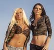 Two sexy beautiful young women