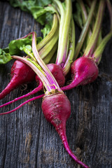 Raw Organic Miniature Red Candy Stripe Beets