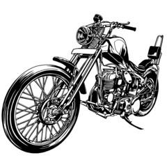 大きなバイク